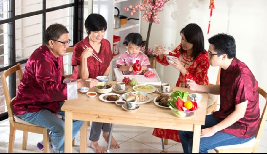Perayaan imlek dengan makanan khas imlek ala duniamasak via gaya.tempo.co