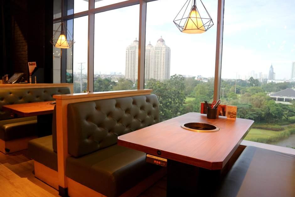 Interior Kintan Buffet Senayan CIty via dok. Duniamasak.com