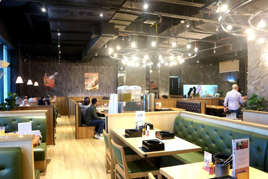 Interior Kintan Buffet Senayan CIty via dok. Duniamasak