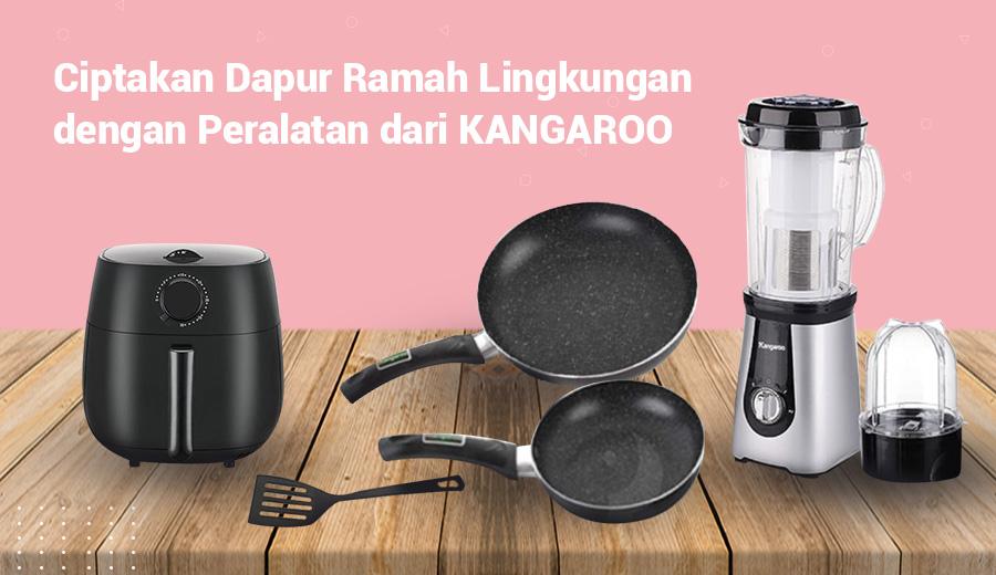 Kangaroo peralatan dapur review product dok. duniamasak
