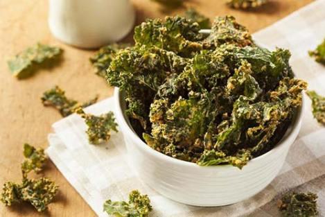 Keripik kangkung via orami.co.id ala tim duniamasak.com resep aneka keripik sayur