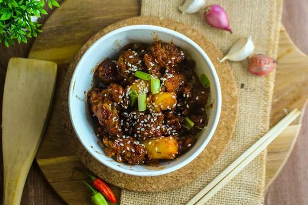 kokido banner crispy chicken xxl makanan asia dok. duniamasak