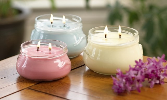 Lilin aroma terapi dengan bahan dapur via media.rooang.com