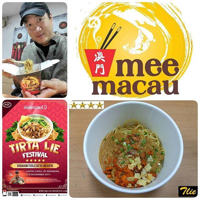 Bakmi Terlezat Macau via IG @tirta_lie
