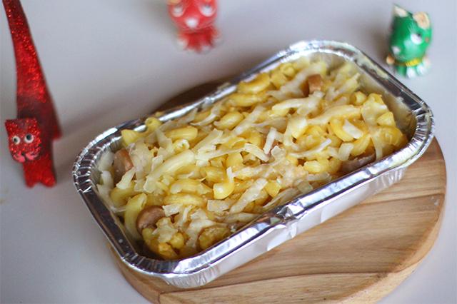 Mac & cheese The Cat Cabin dok. duniamasak