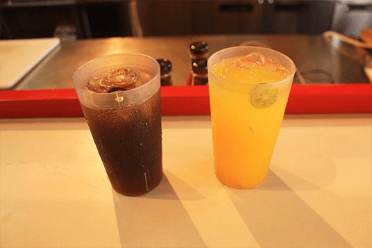 Liang Teh & Es 3 Jeruk dok. duniamasak