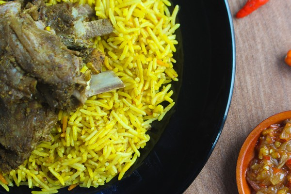 Nasi kebuli ijab qabul dok. duniamasak.com