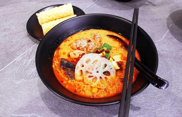 Mala Tang Shabu Bowl Nuan Restaurant via duniamasak