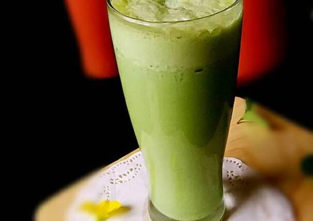 Thai Green Tea via Cookpad.com