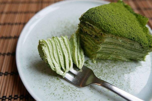 Resep mille crepes green tea matcha via atelierlalune.com ala duniamasak