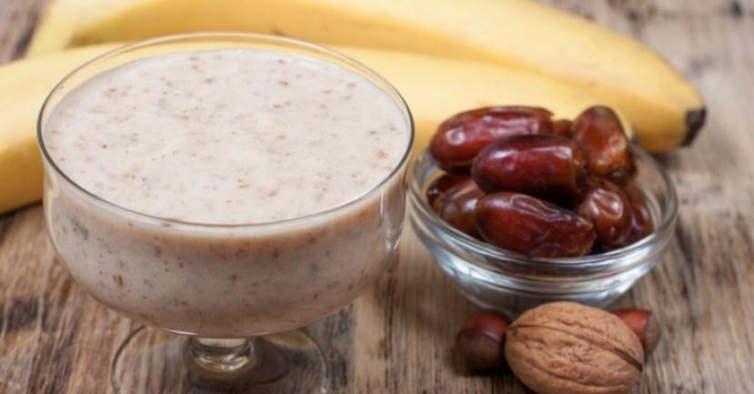 Resep kurma banana dates smoothie via idntimes ala duniamasak