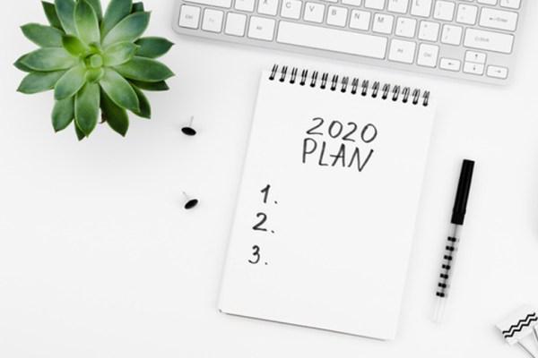 Resolusi tahun baru notes 2020 via freepik ala duniamasak