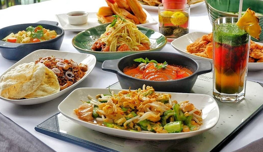 Makanan di Restoran Plataran Dharmawangsa via ig/platarandining ala tim duniamasak.com