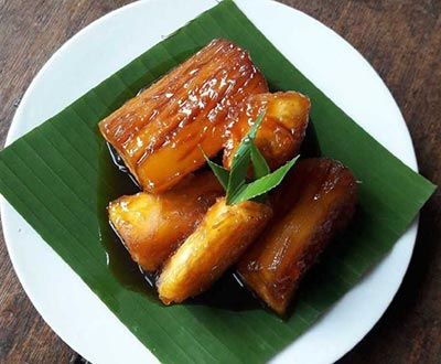 Resep Singkong karamel via yummy.co.id ala tim duniamasak.com