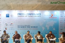 Trade Expo Indonesia 2019 press conference dok. duniamasak