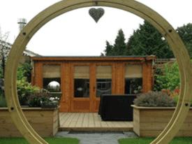 Images Log Cabin Dunster House