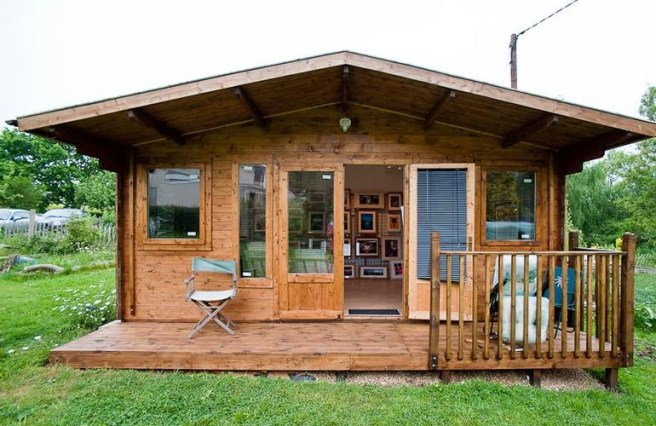 Dunster House Shed of the Year Cabin Bar