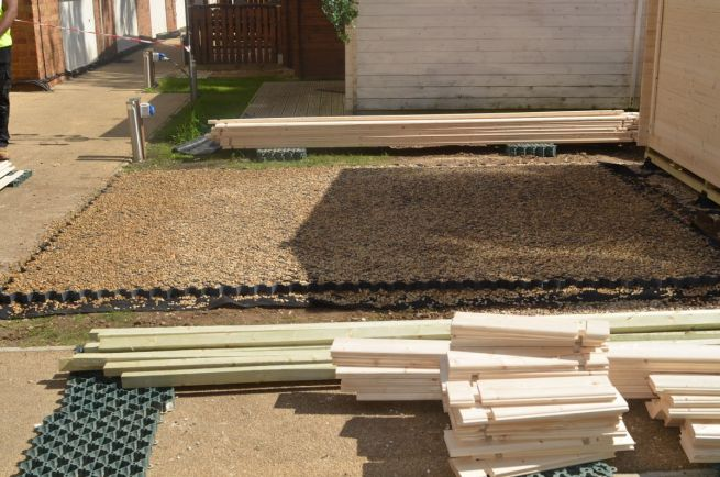Garden Building Foundations