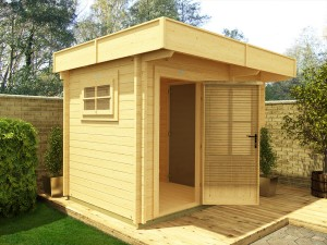 Wood Treatment Dunster House Garden Office
