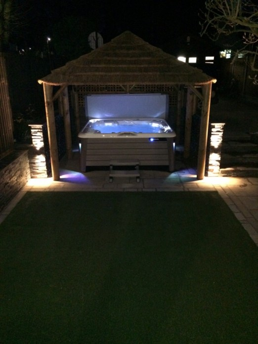Customer Reviews Dunster House Gazebo with hot tub