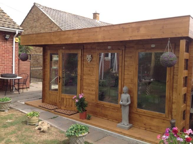 Log Cabin Dunster House