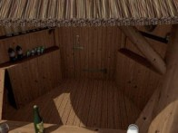 Thatched Gazebo Dunster House