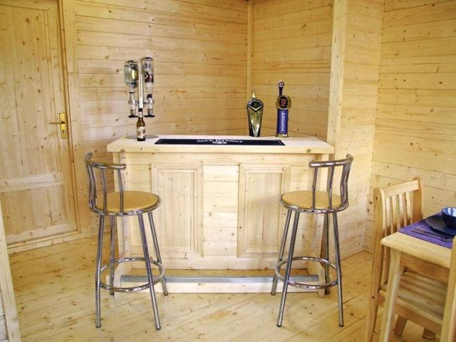 Log Bar Dunster House