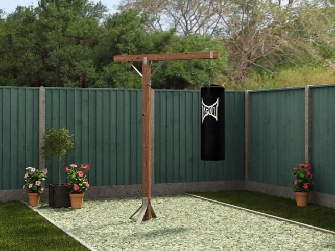 Gym in the garden - Boxing Bag Stand