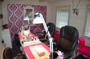 Log Cabin Transformations Beauty Salon Dunster House