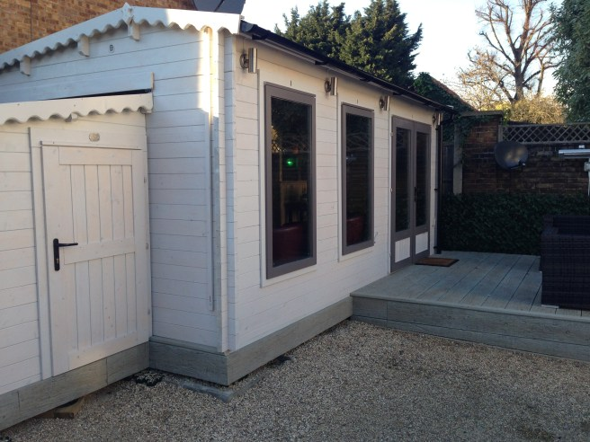 Customer Reviews: Modetro Sunlight Log Cabin Dunster House Exterior
