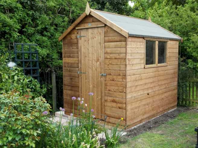 Sheds from Dunster House