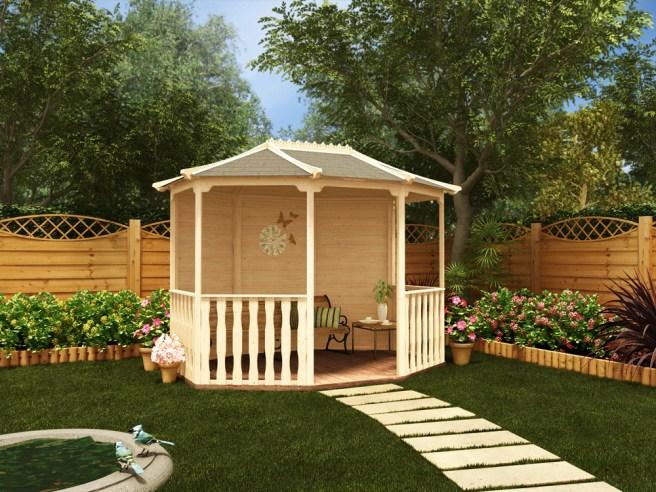 "Gazebo ""Otteridge"" Garden design"