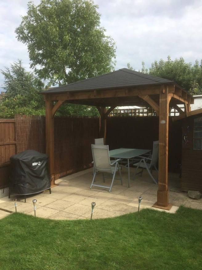Customer Reviews of Atlas Gazebo from Dunster House