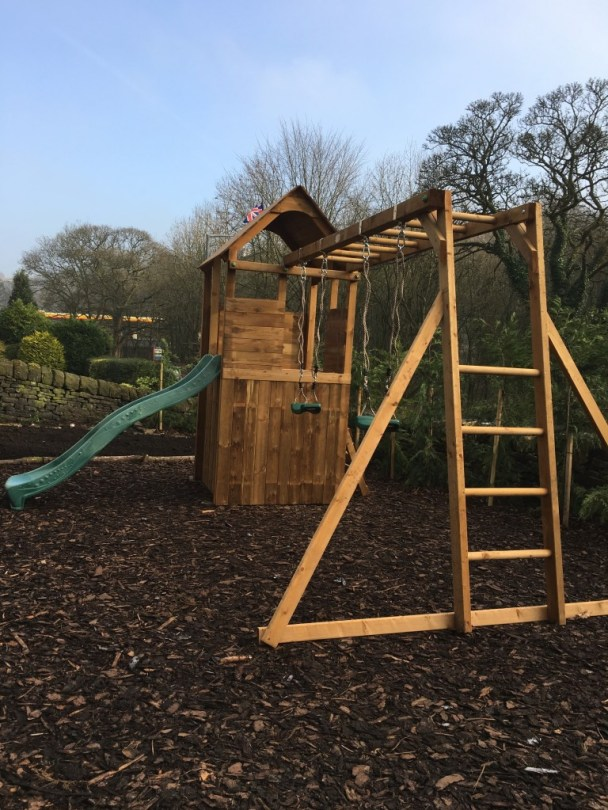 FortPlus Escape climbing frame from  Dunster House