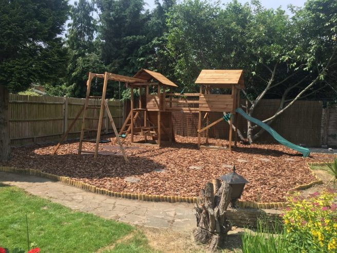 MegaFort Climbing Frame from Dunster House