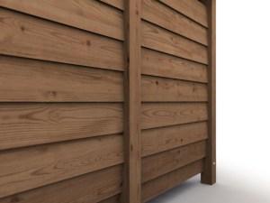Large Log Store - line up inner panels