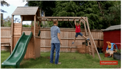 FortPlus Escape Climbing Frame Dunster House