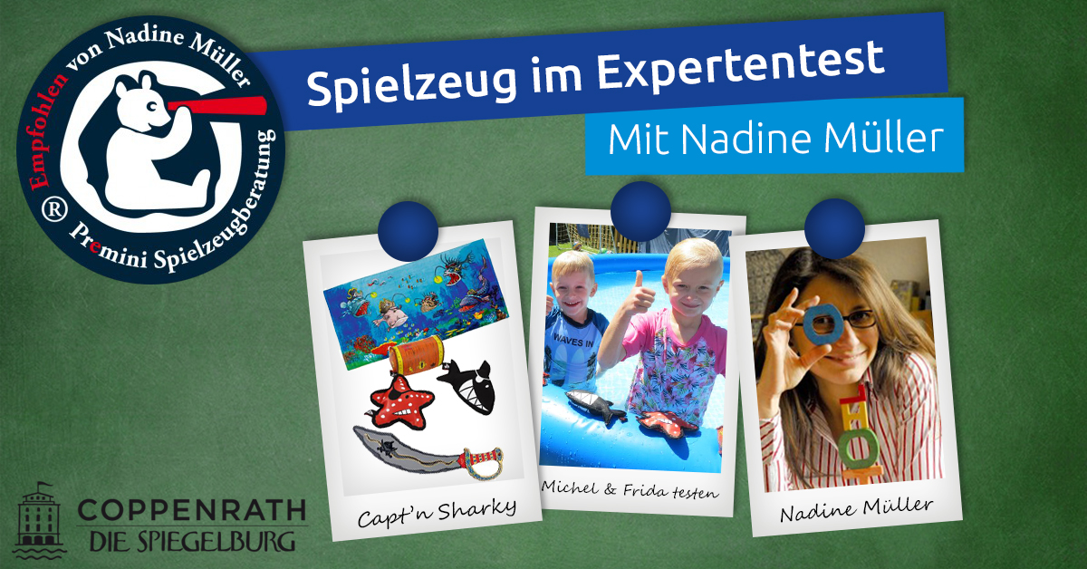 Capt'n Sharky im Test: Ab in den Garten – Piratenspaß für wilde Kinder!