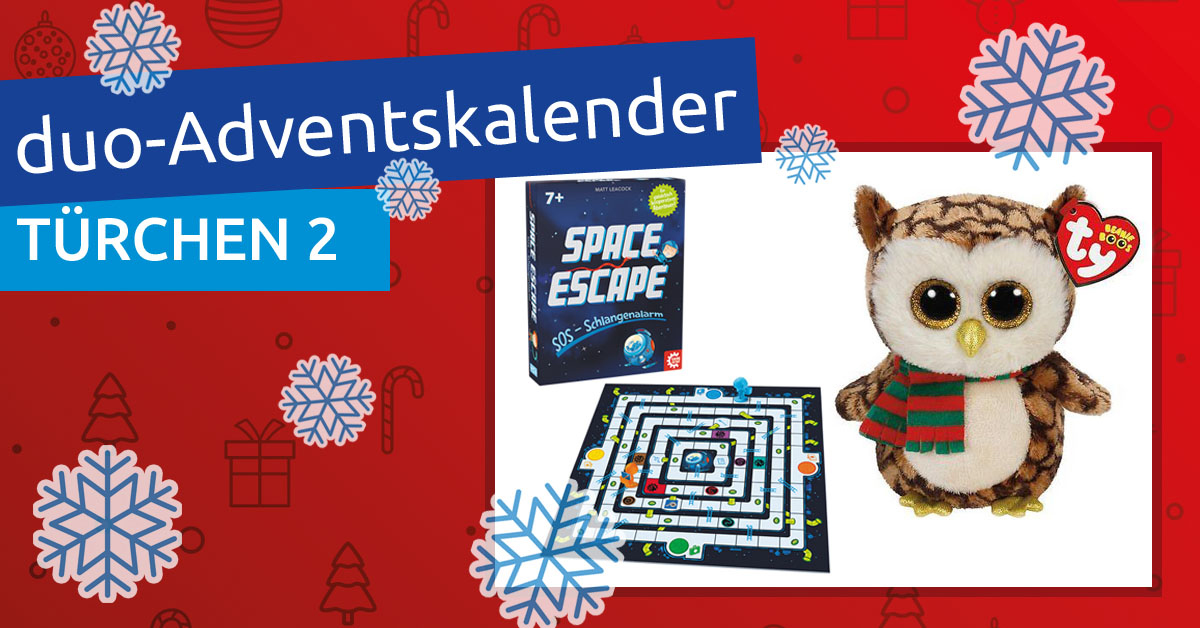 duo-Adventskalender 2018: Türchen 02