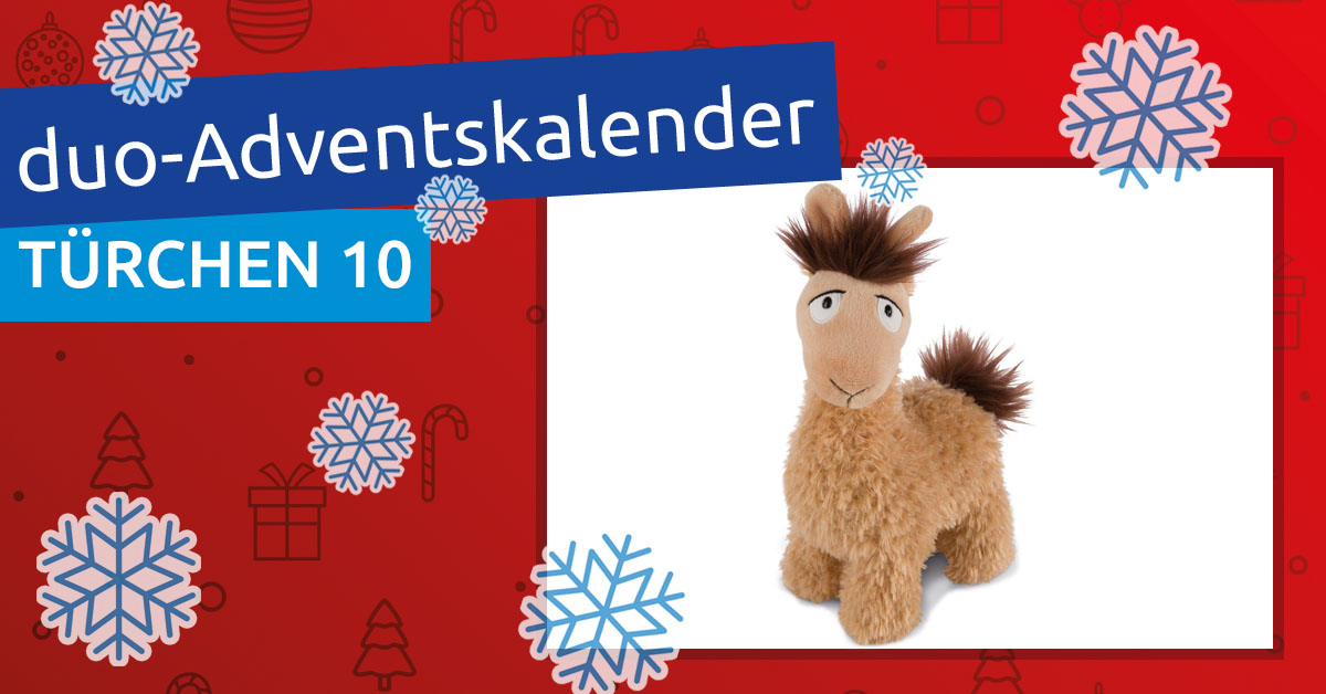 duo-Adventskalender 2018: Türchen 10