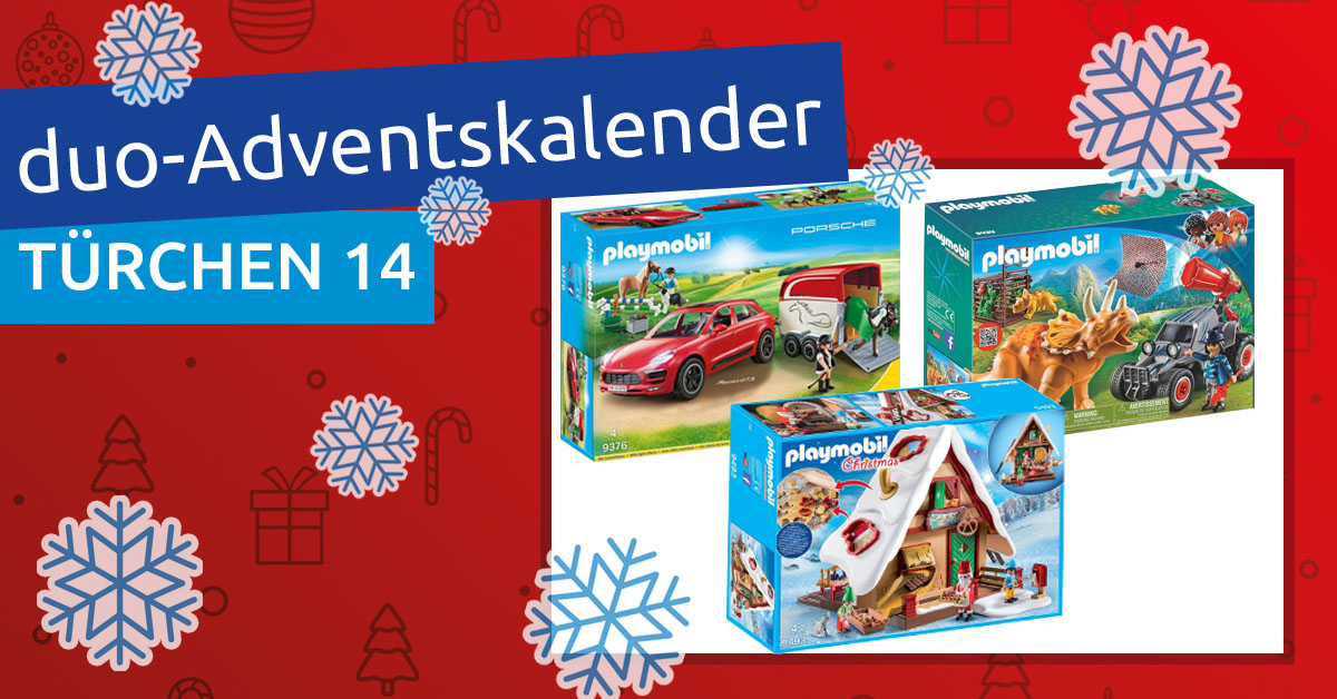 duo-Adventskalender 2018: Türchen 14