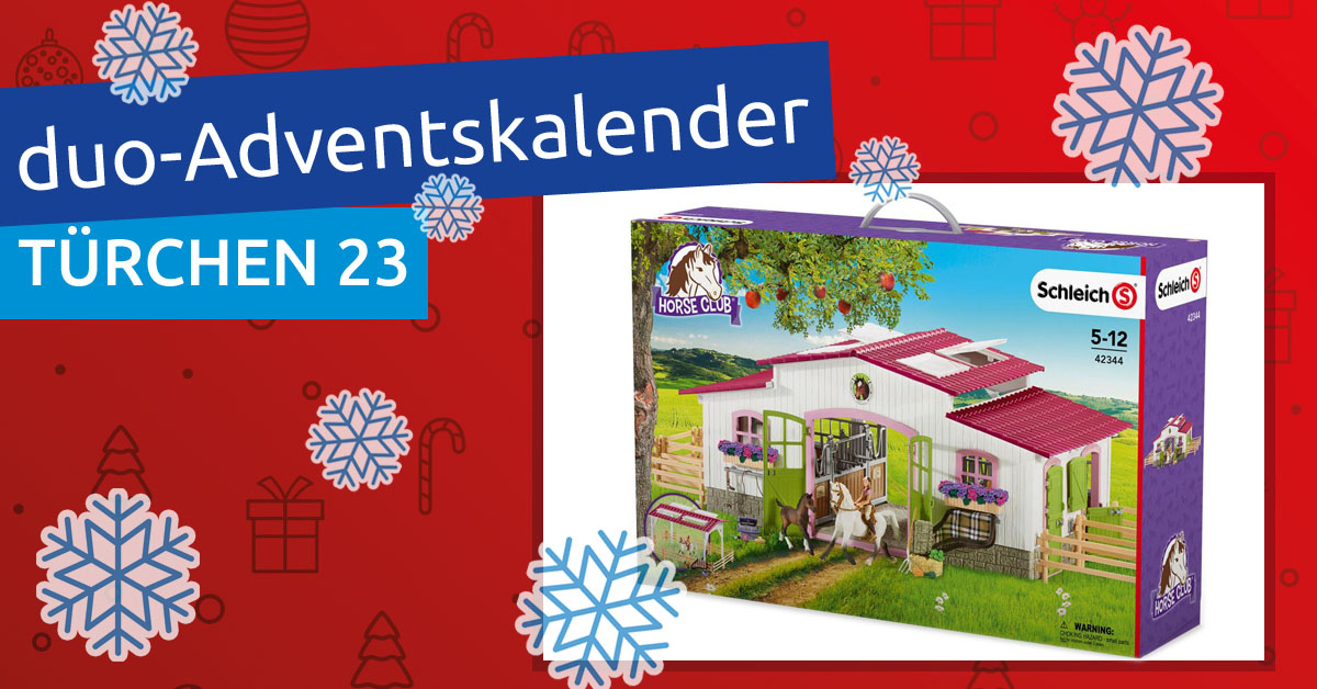 duo-Adventskalender 2018: Türchen 23