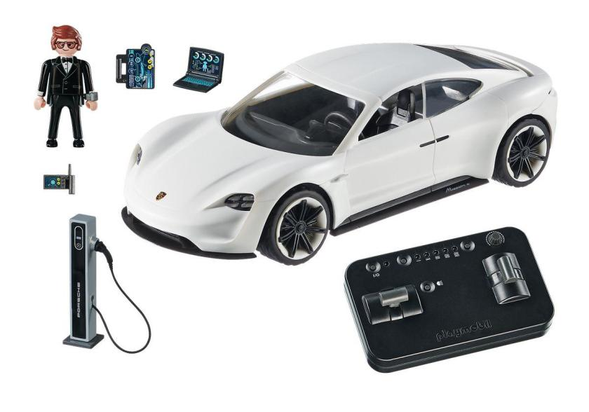 PLAYMOBIL® The Movie Rex Dasher's Porsche Mission E