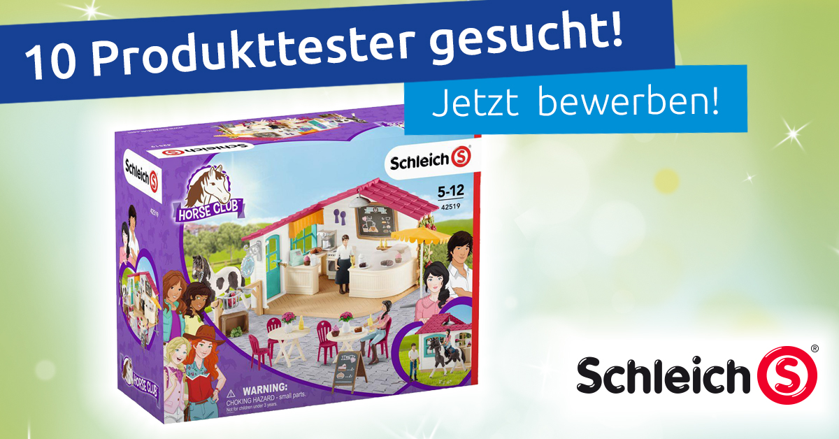 Produkttest Schleich Horse Club Reitercafe