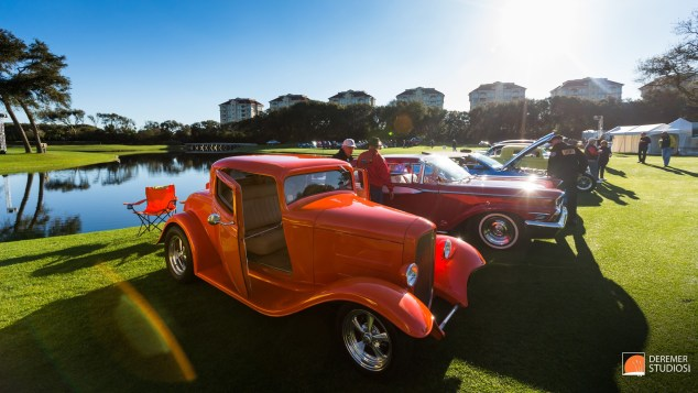 2014 03 Amelia Concours Day 2 - 02 Ford Hotrod Cars and Coffee