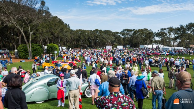 2014 03 Amelia Concours Day 3 - 15 Full Show Field
