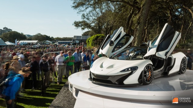 2014 03 Amelia Concours Day 3 - 19 McLaren P1 Show Reveal