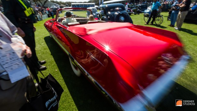 2014 03 Amelia Concours Day 3 - 20B Judging and Awards Red Chrys