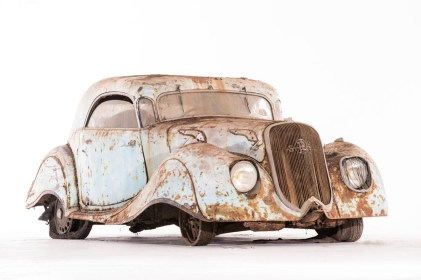 1936 PANHARD-LEVASSOR DYNAMIC X76 COUPE JUNIOR - COLLECTION BAILLON - SOLD TO THE FRENCH STATE 56 000E-63 360 $ GêÅ ARTCURIAL