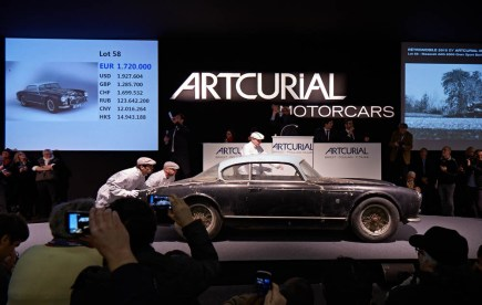 1956 MASERATI A6G 2000 GRAN SPORT BERLINETTA FRUA - COLLECTION BAILLON - SOLD 2 ME-2,2M$ - AUCTION ROOM GêÅ ARTCURIAL